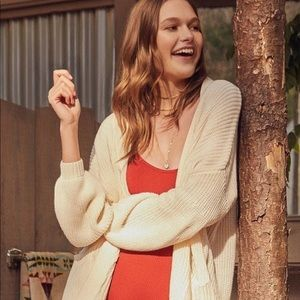 Urban Outfitters BDG Charlie Dolman Cardigan XS